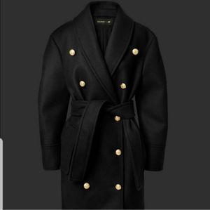 Balmain x H&M Military style coat